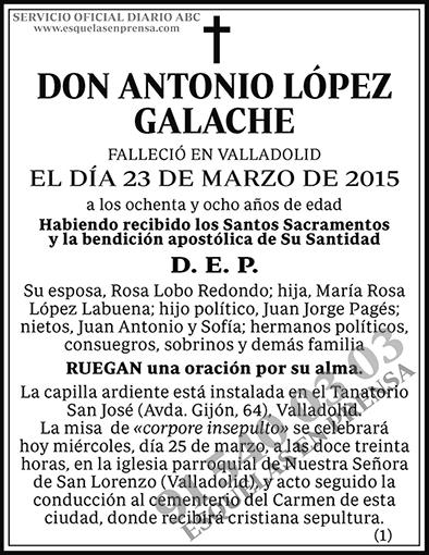 Antonio López Galache